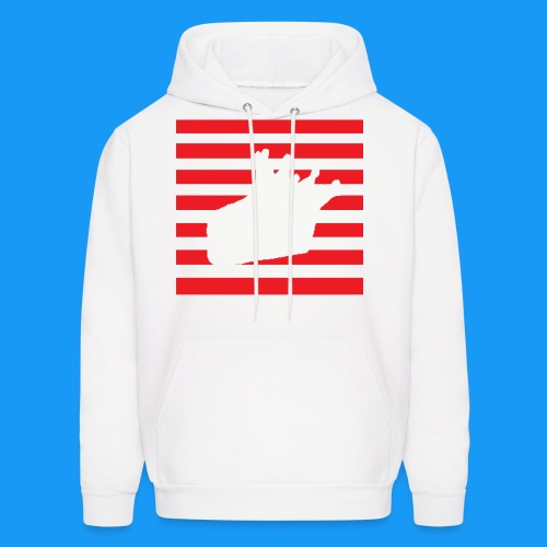 Stripes KC Logo Hoodie - Men's Hoodie