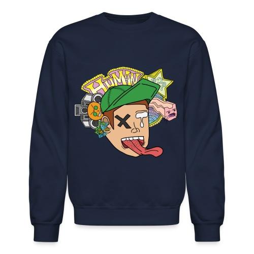 HUMAN Kid Crewneck - Crewneck Sweatshirt