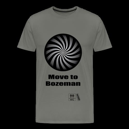 Move to Bozeman - Men's Premium T-Shirt