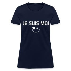JE SUIS MOI - 100%cotton - T-shirt pour femmes