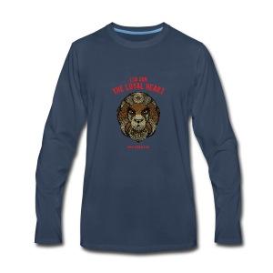 Leo Sun Men's Premium Long Sleeve T-Shirt - Men's Premium Long Sleeve T-Shirt