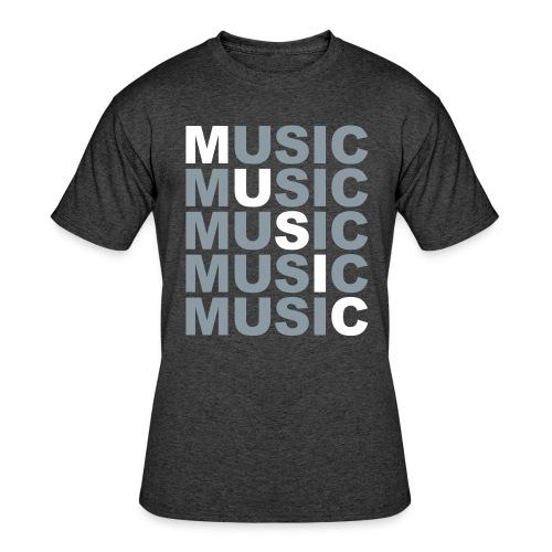 Music Music Shirt - Men's 50/50 T-Shirt
