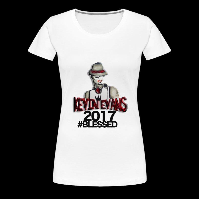 DJ Kevin Evans Blessed - Women's Premium T-Shirt