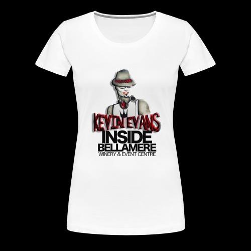 Dj Kevin Evans Bellamere - Women's Premium T-Shirt