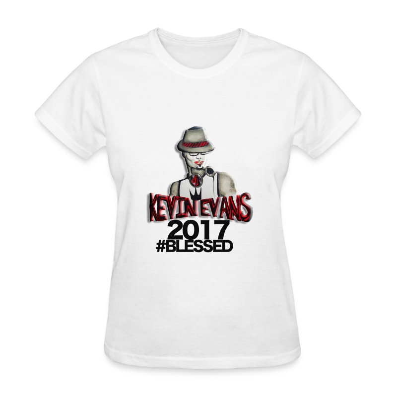 DJ Kevin Evans Blessed - Women's T-Shirt