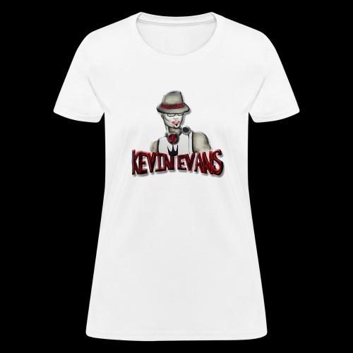 DJ Kevin Evans Logo 2 - Women's T-Shirt