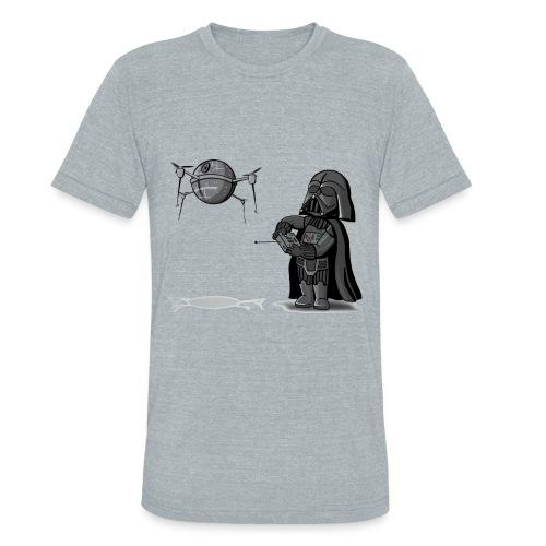 Drone Vader - Unisex Tri-Blend T-Shirt