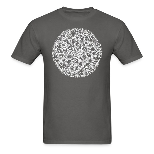 Family Circle of Skulls - Men's T-Shirt