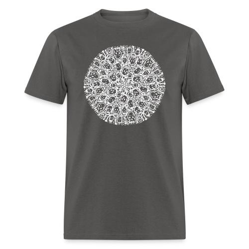 Family Circle of Skulls - Men's T-Shirt