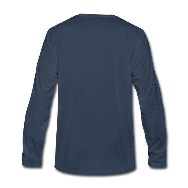 Beluga Whale T-shirts Men's Long Sleeve
