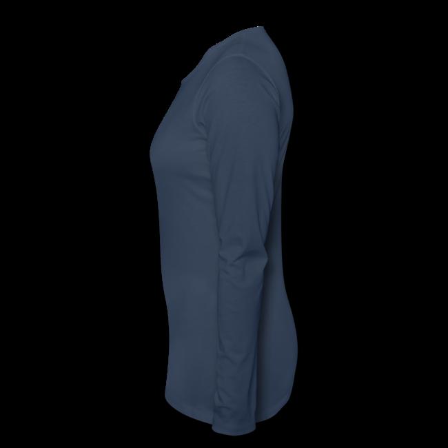 Beluga Whale T-shirts Women's Long Sleeve
