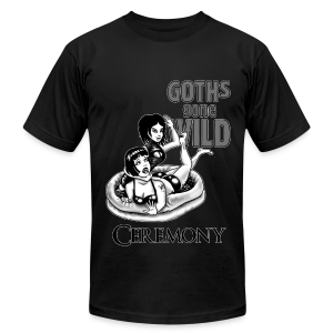 Goths Gone Wild - design by Sponge Studio - Men's T-Shirt by American Apparel