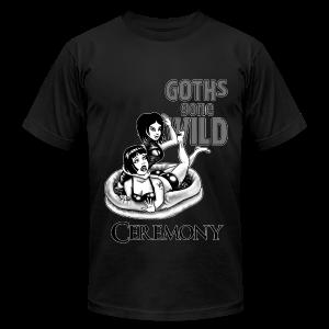 Goths Gone Wild - design by Sponge Studio - Men's Fine Jersey T-Shirt