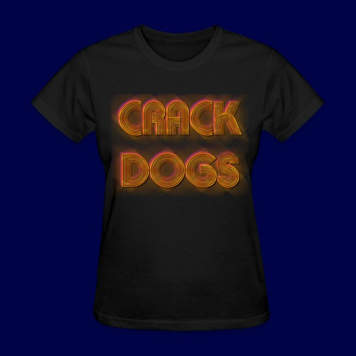 Crack Dogs 70's Logo - Womens - Women's T-Shirt