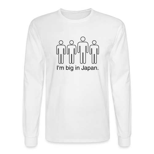 Japan! LS Shirt - Men's Long Sleeve T-Shirt