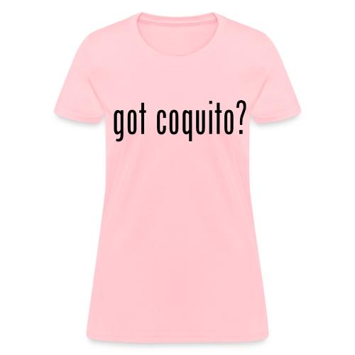 GOT COQUITO? WOMEN T-Shirt (Color) - Women's T-Shirt