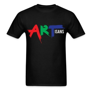 ARTisans Blacc - Men's T-Shirt