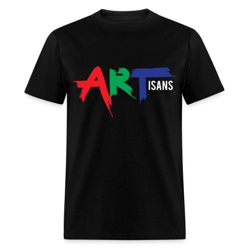 ARTisans Blacc - Men's T-Shirt