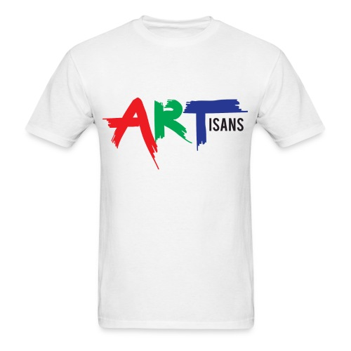 ARTisans White Fan Tee - Men's T-Shirt