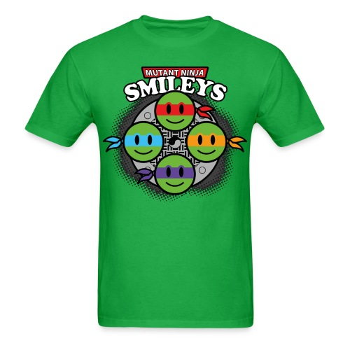 Mutant Ninja Smileys - Men's T-Shirt