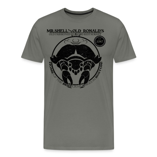Mr. Shell and Old Ronald's Old Fashioned Seafood Restaurant - Men's Premium T-Shirt