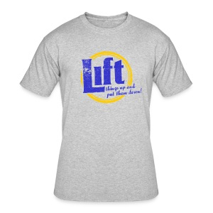 Lift - Men's 50/50 T-Shirt