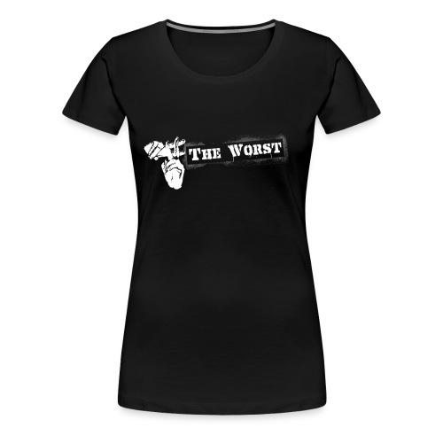 Hashtag The worst  - Women's Premium T-Shirt
