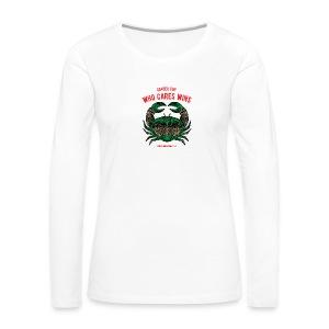 Cancer Sun Women's Premium Long Sleeve T-Shirt - Women's Premium Long Sleeve T-Shirt
