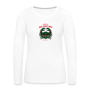 Cancer Sun Women's Premium Long Sleeve T-Shirt - Women's Premium Long Sleeve T-Shirt