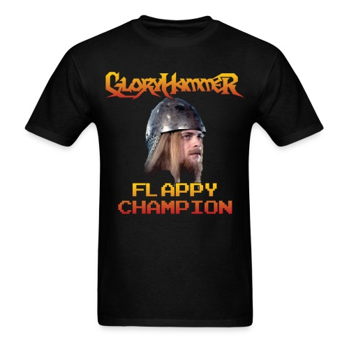 Flappy Hootsman Champion Shirt - Men's T-Shirt