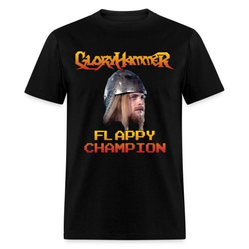 Flappy Hootsman Champion Shirt - Men's T-Shirt