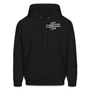 black hoodie - Men's Hoodie