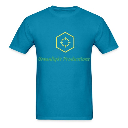 Greenlight- Men's Blue - Men's T-Shirt