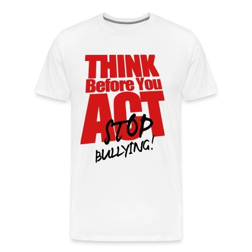 Stop Bullying (plus) - Men's Premium T-Shirt