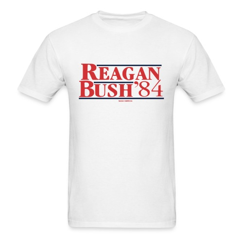 Reagan Bush '84 T-Shirt - Men's T-Shirt