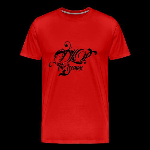 Wisconisn Red DLO the Iceman shirt - Men's Premium T-Shirt