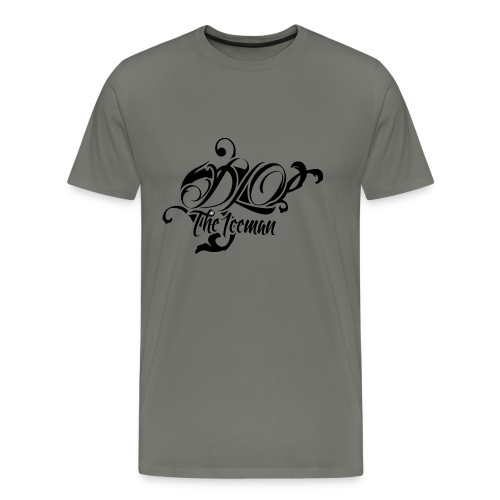 Grey Premium DLO the Iceman Shirt - Men's Premium T-Shirt