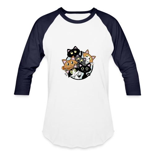 CAT LOVER - Baseball T-Shirt