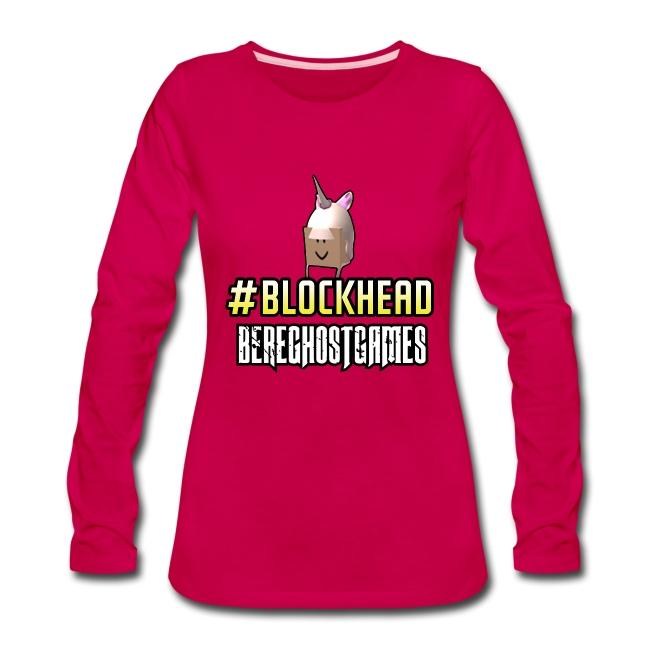 Ladies Long Sleeve #Blockhead