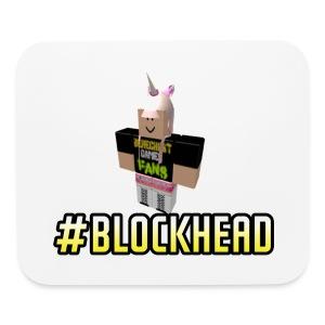 #Blockhead Mousepad - Mouse pad Horizontal
