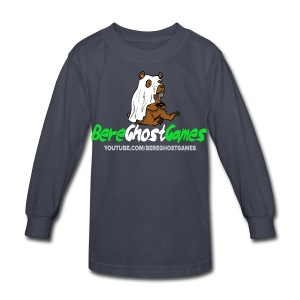 Kids Long sleeve decked out logo - Kids' Long Sleeve T-Shirt