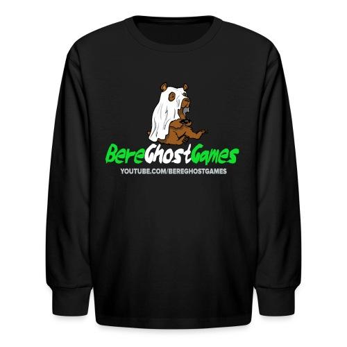 Kids Long sleeve decked out logo - Kids' Long Sleeve T-Shirt
