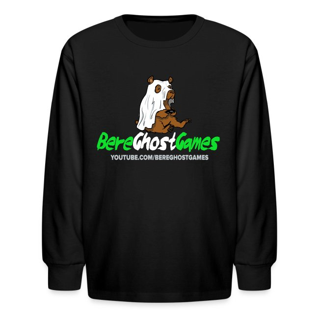 Kids Long sleeve decked out logo