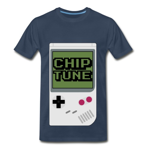 [MENS] Chiptune Graphic Premium Tee [Multicolored] - Men's Premium T-Shirt