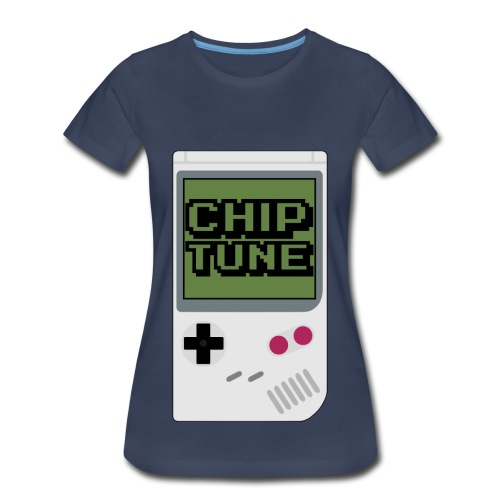[WOMENS] Chiptune Graphic Premium Tee [Multicolored] - Women's Premium T-Shirt