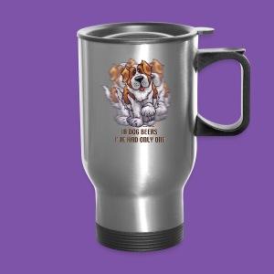 Dog Beers St. Bernard Mug - Travel Mug