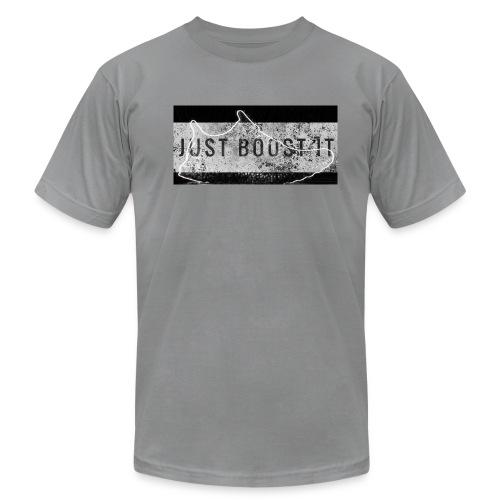 Just Boost It tee shirt - Men's Fine Jersey T-Shirt