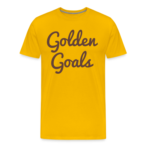 Golden Goals - Men's Premium T-Shirt