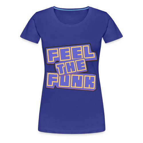 [WOMENS] Feel The Funk Graphic Premium Tee [Multicolored] - Women's Premium T-Shirt