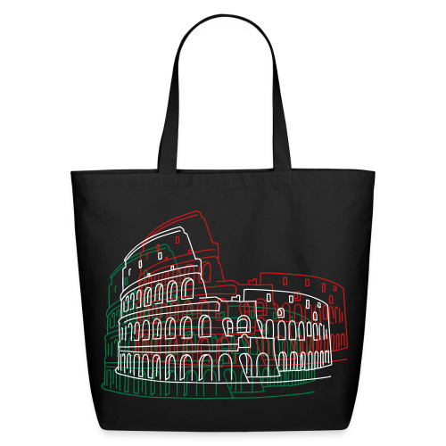 Colosseum in Rome - Eco-Friendly Cotton Tote